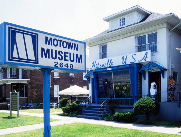 Motown Museum, original home of Motown Records, Detroit, Michigan.