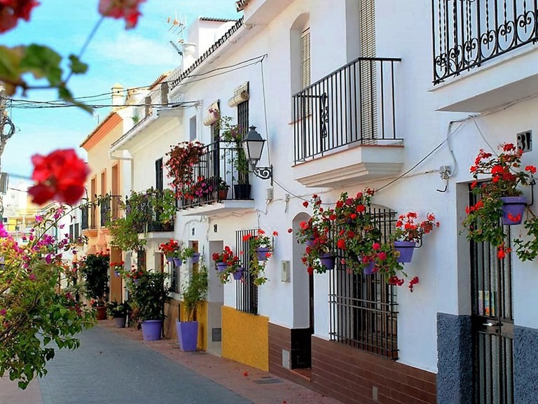 A pretty street in Estepona