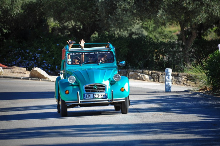 The ultimate road trip companion in France: The 2CV