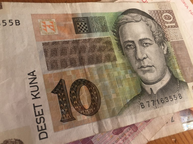 Juraj Dobrila is found on Croatia's 10-kuna note