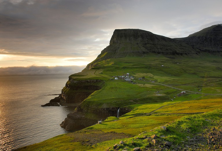 Gásadalur-Village-Faroe Islands