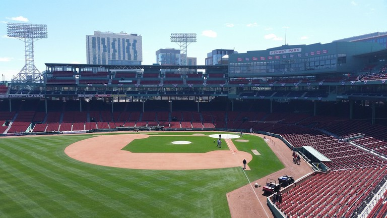 Fenway Park, Boston, baseball