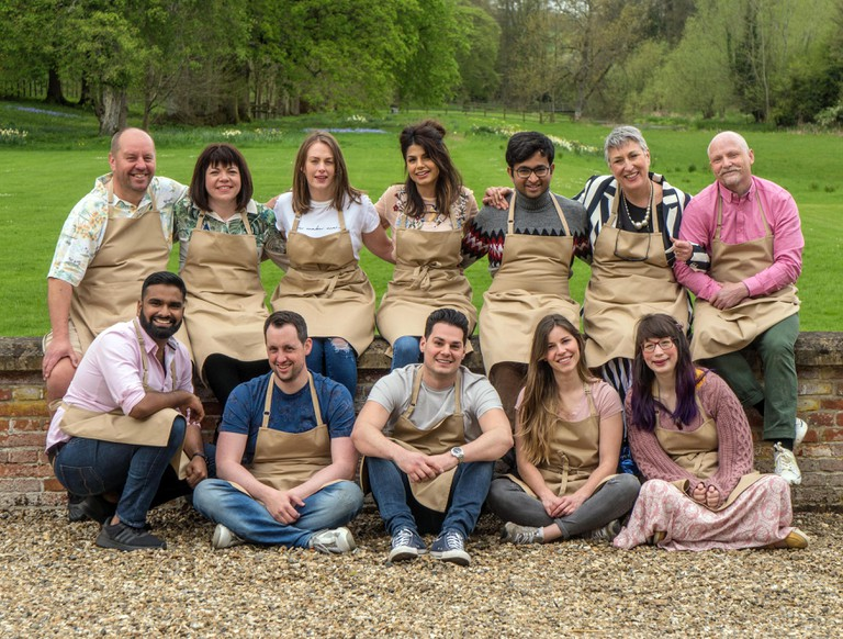 The bakers in the Great British Bake Off 2018