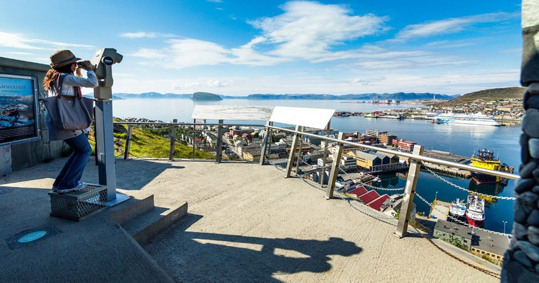 Hammerfest nowadays attracts many visitors