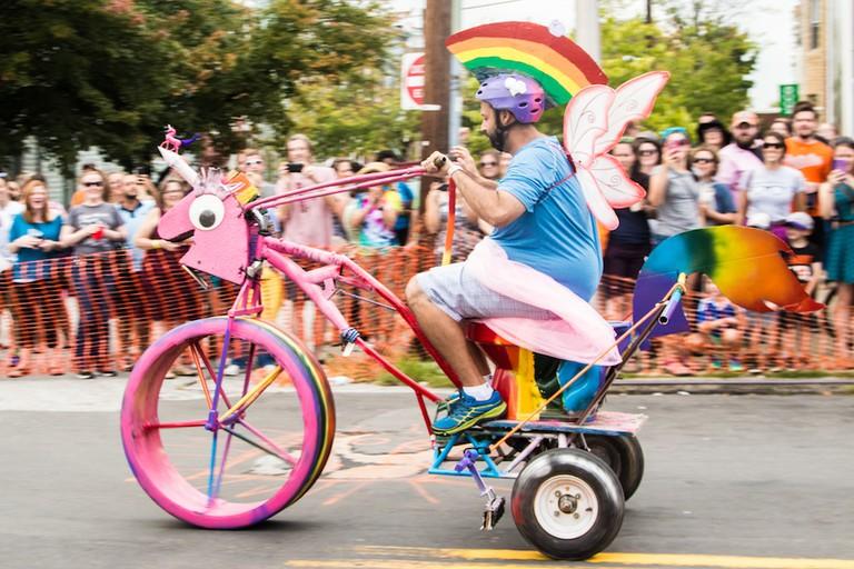 Toilet Race, Hampdenfest, Hampden, Baltimore, Maryland