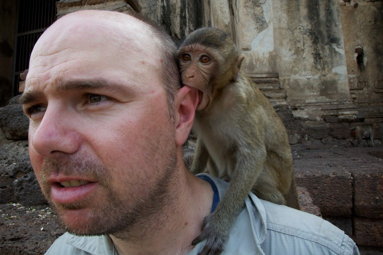 AN IDIOT ABROAD - Series 2, Bucket List - Episode 3 -  Karl Pilkington - Swim with Dolphins