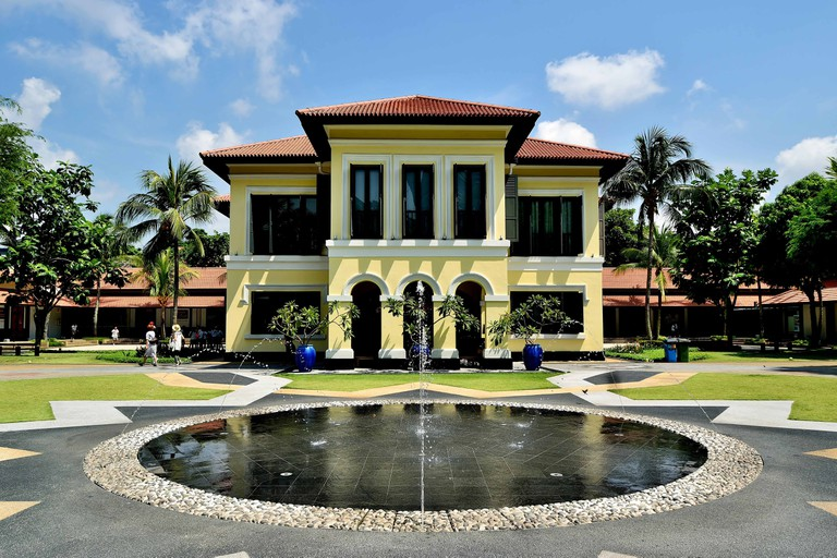 Malay Heritage Center at Kampong Glam, Singapore.