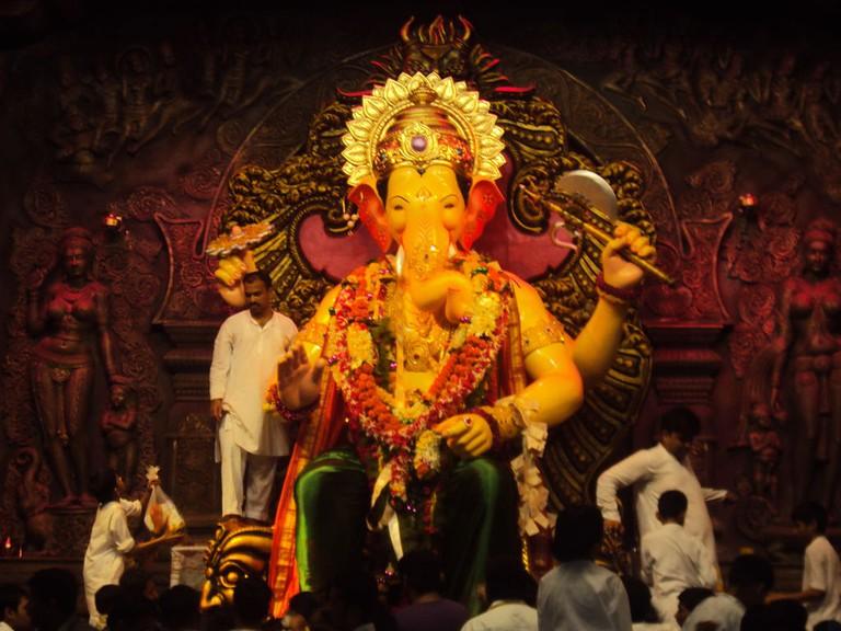 Ganesh Chaturthi celebrations at Lalbaugcha Raja in Mumbai are the most iconic of all