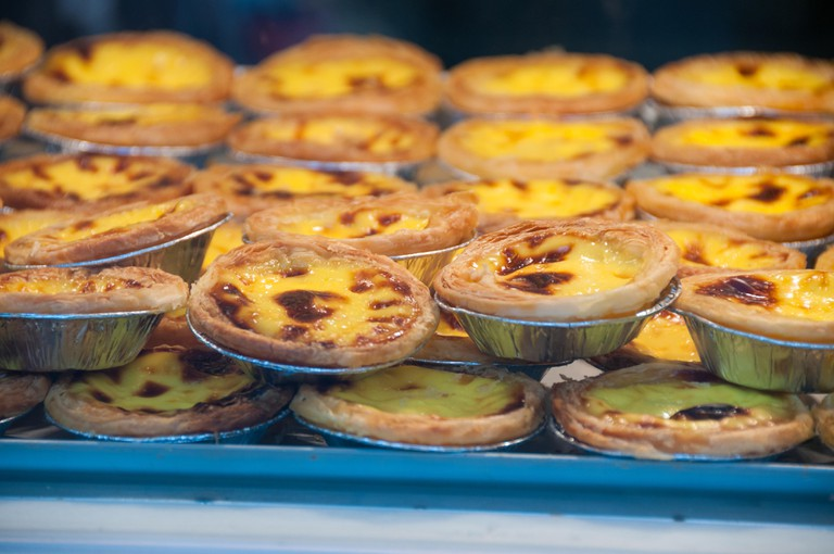 Although they originate from Hong Kong or Macau, egg tarts are very popular in Shanghai and none more so than from Lillian?s as pictured.