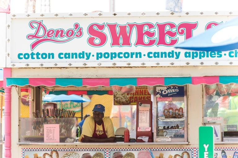 Sweet Treats on the Coney Island Boardwalk.