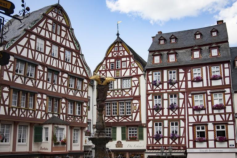 Bernkastel old town square