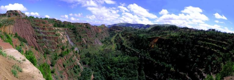 Beautiful scenery at Ngwenya