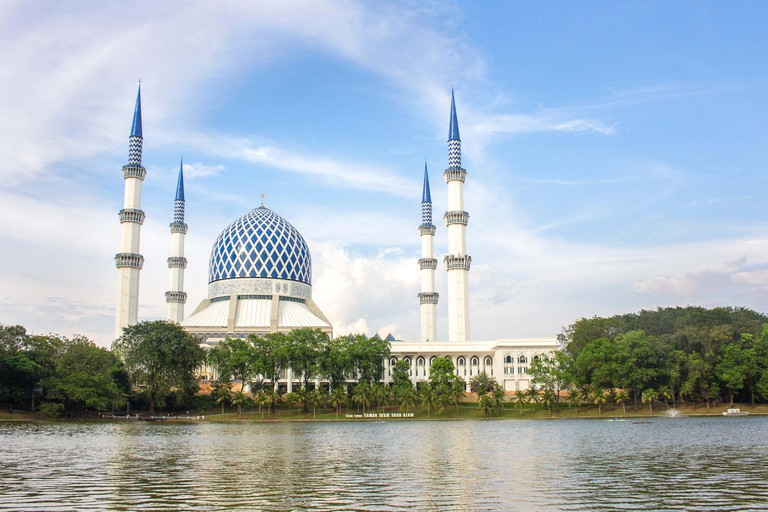 One of Malaysia's most beautiful mosques in Shah Alam