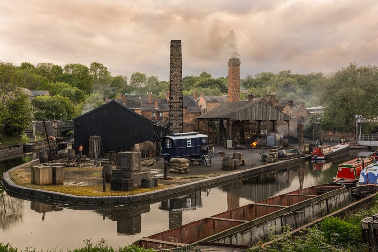 Peaky Blinders set – The Black Country Living Museum