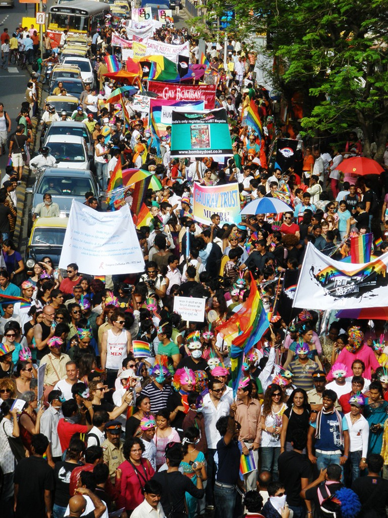 QAM Pride March