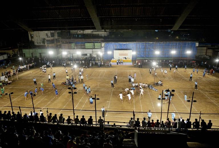 Kabaddi tournament, Mumbai, India.