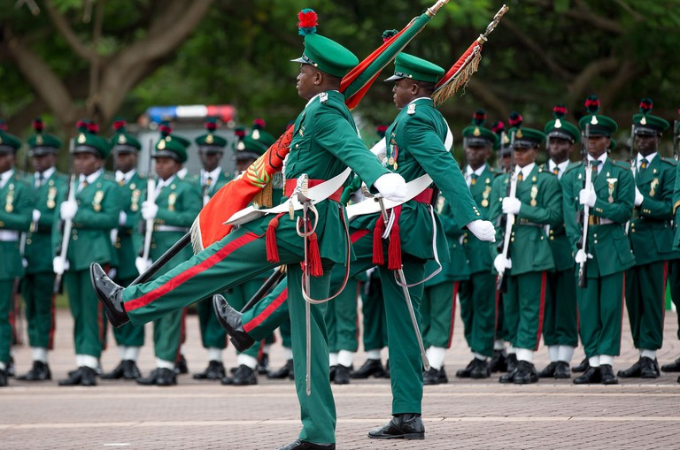 Nigeria's 55th Anniversary in Abuja, Africa - 30 Sep 2015