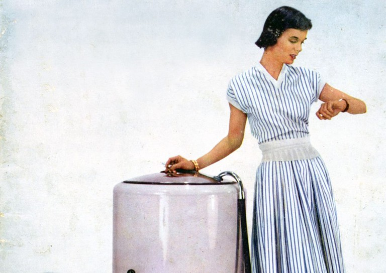 Washing machine by Conord, advertisement from Arts Menagers, France, 1950 | © CCI / REX / Shutterstock