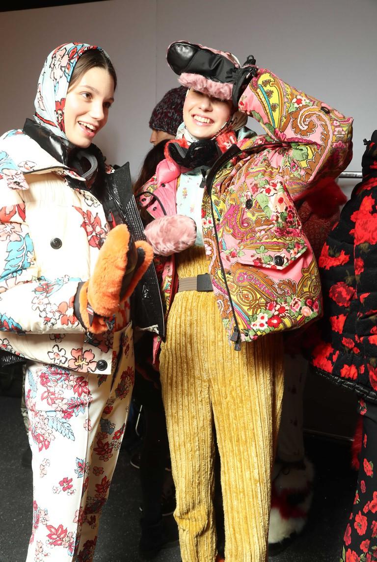 Moncler Genius Project, Backstage, Fall Winter 2018, Milan Fashion Week, Feb 2018