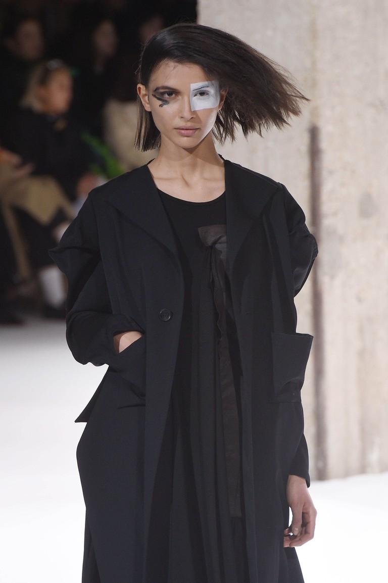 Yohji Yamamoto show, runway, fall/winter 2018, Paris Fashion Week