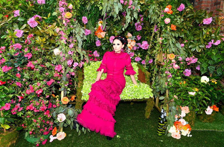Stacey Bendet at Alice and Olivia x Ecco Domani designer label launch.