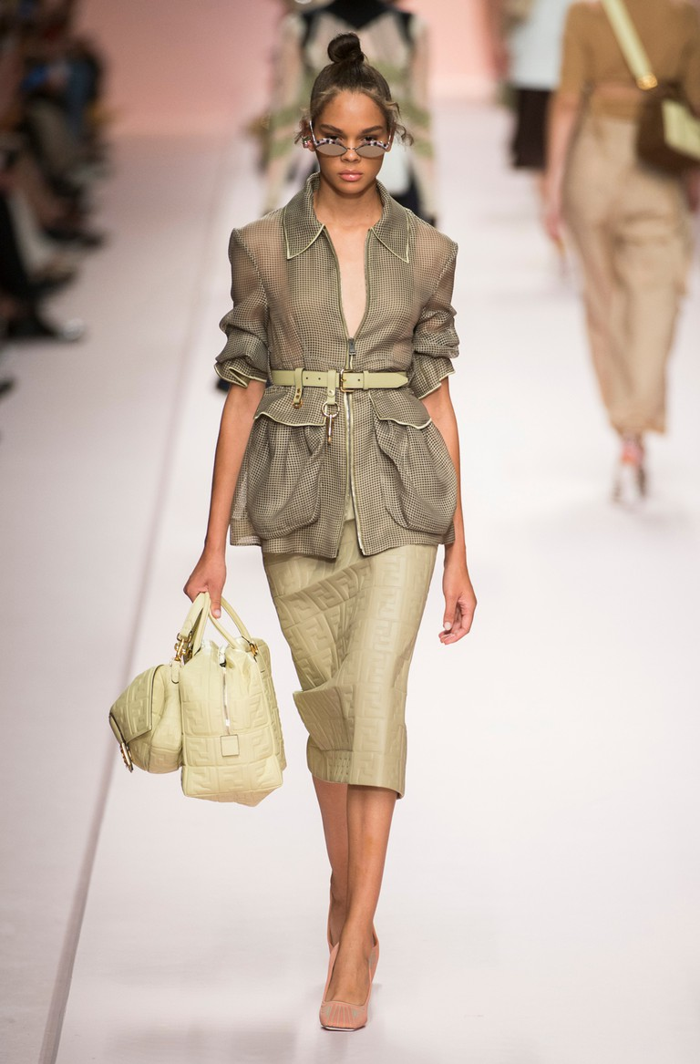 Fendi show, Milan Fashion Week, Italy