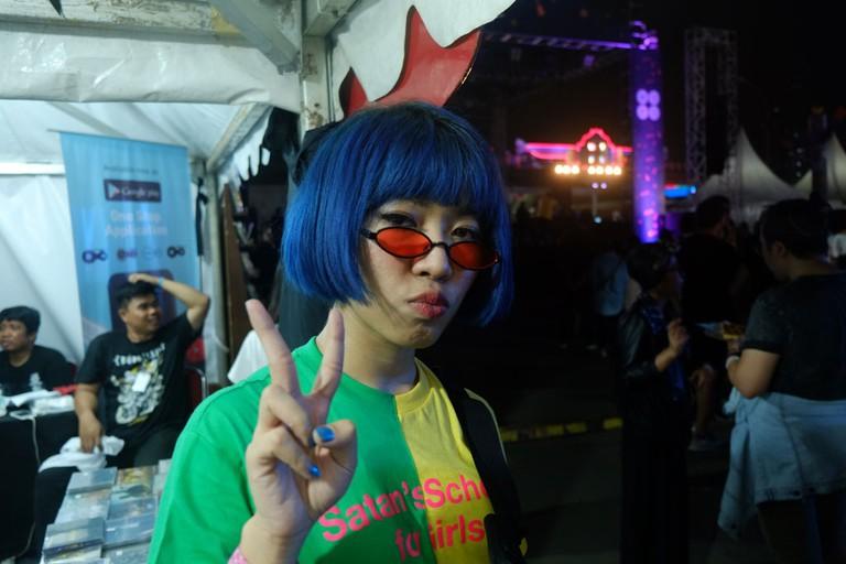 ramengvrl Indonesian rapper