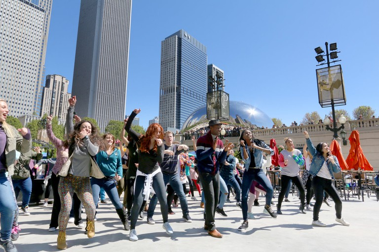 Chicago flash mob