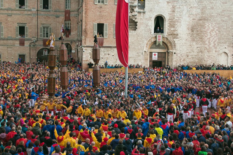 Festa dei Ceri, Gubbio, Italy