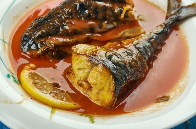Mackerel tomato stew, nigerian soup