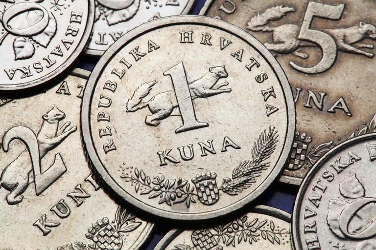 Croatian one-kuna coin