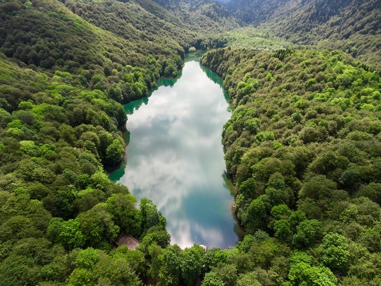 Biogradskoe lake, Montenegro.