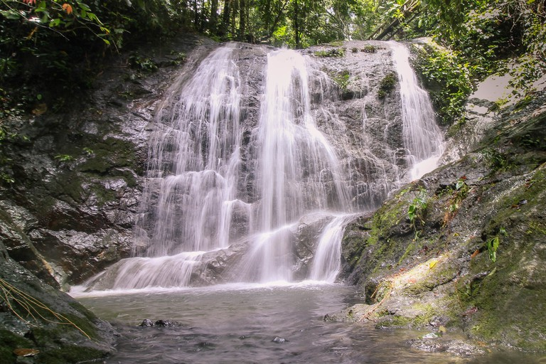 Tembaling Waterfall, Borneo, Malaysia