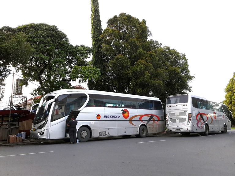 Bus Express Terminal, Lahad Datu, Malaysia