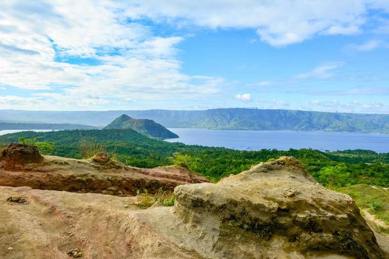 Taal Volcano, Philippines.