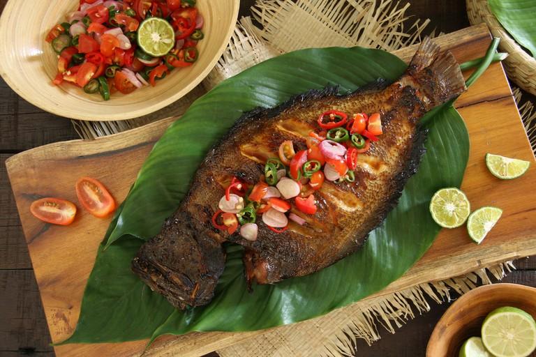 Ikan Bakar Dabu-Dabu