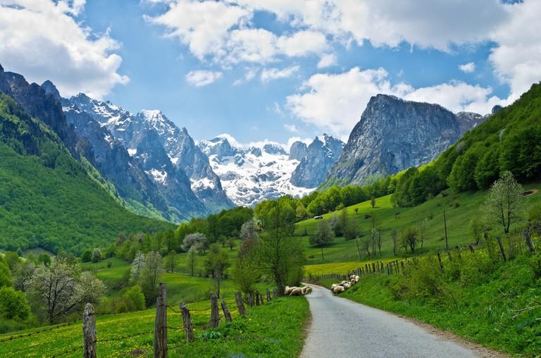 Prokletije Mountain, Montenegro
