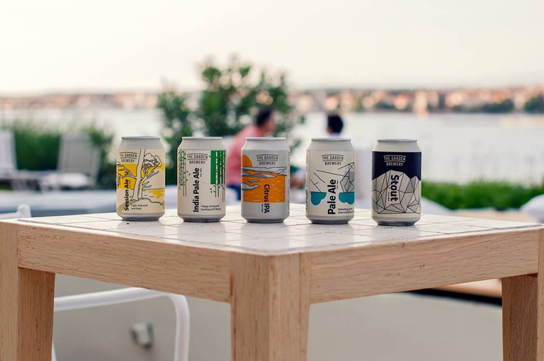 The classy range of beers from The Garden Brewery in Croatia