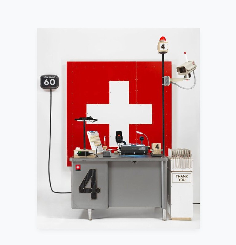 Swiss Passport Office, Tom Sachs Studio, 2018