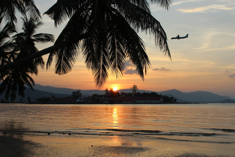 Sunset over Koh Samui