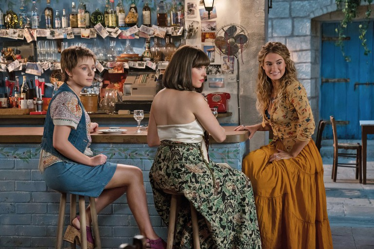 Young Donna (Lily James), young Tanya, (Jessica Keenan Wynn) and young Rosie (Alexa Davies) are among the sequel's main characters