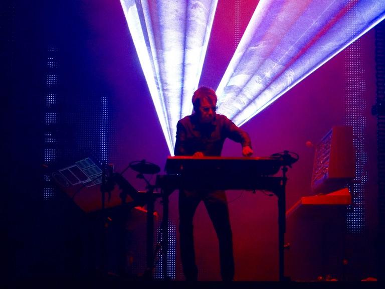 Jean Michel Jarre live at Sónar Festival, Barcelona