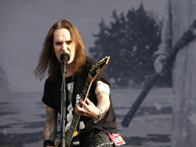 Children of Bodom playing at Provinssirock 2013.