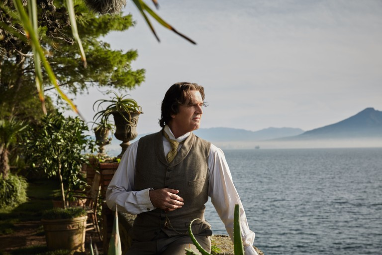 Oscar Wilde (Rupert Everett) in Naples in 'The Happy Prince'
