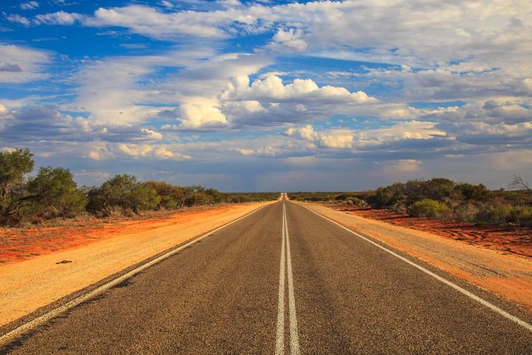 Western Australia road trip landscape