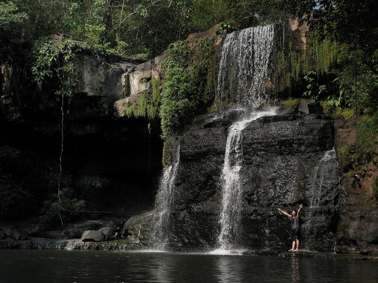 Waterfall at Koh Kut