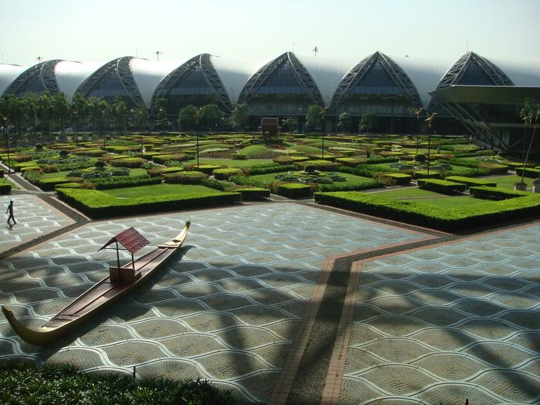 Spirits are said to roam Suvarnabhumi Airport