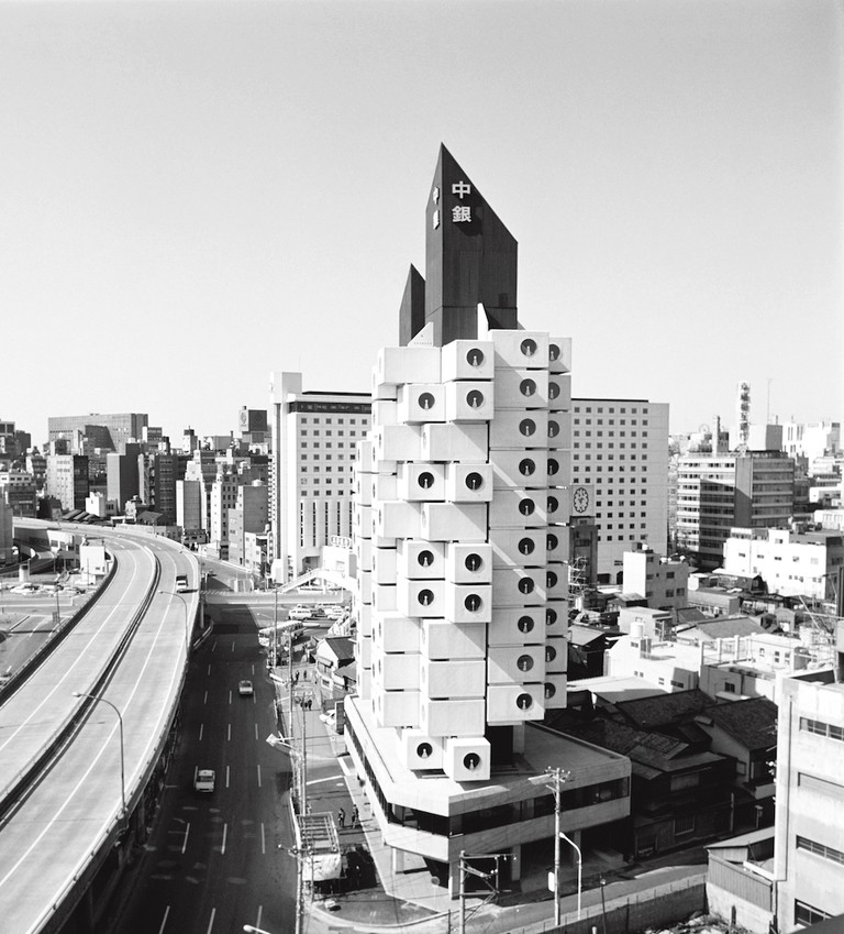 Nakagin Capsule Tower, Kisho Kurokawa, Tokyo, 1972