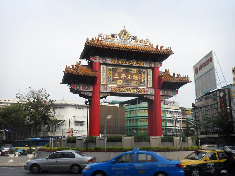 The China Gate in Bangkok