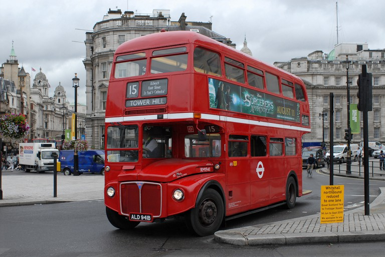 The old Routemaster is still in service on 'heritage routes'